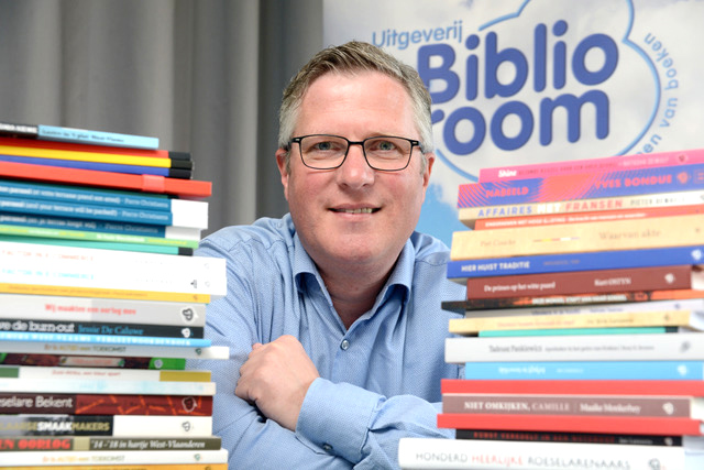 Johan Vergote, bezieler van uitgeverij Bibliodroom