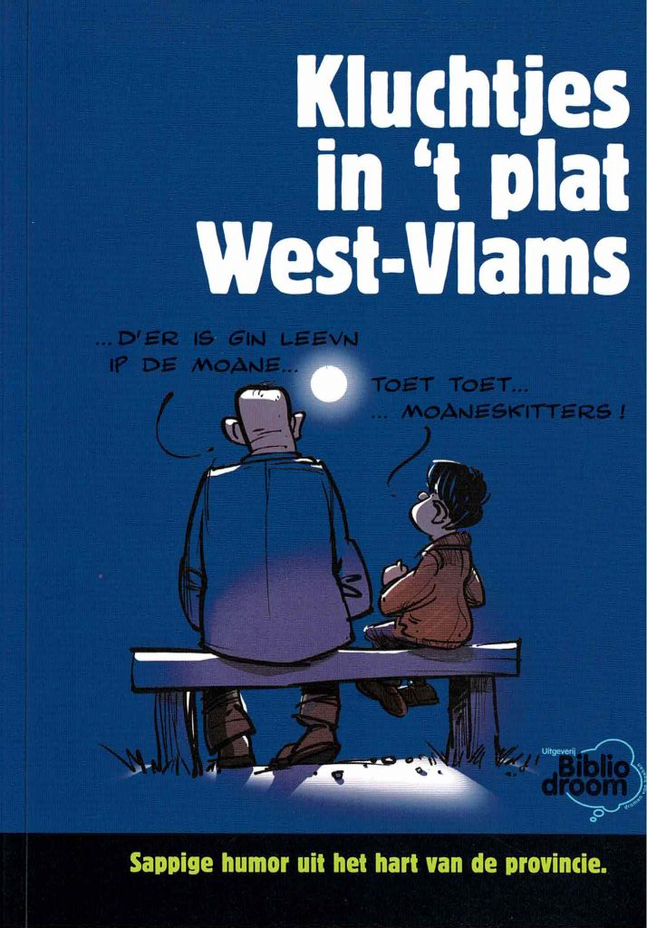 Kluchtjes in 't plat West-Vlams - uitgeverij Bibliodroom