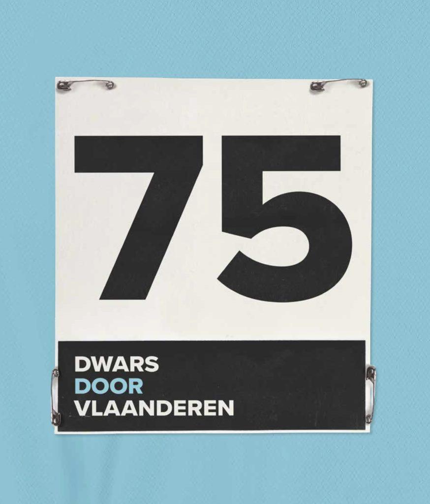 Cover boek 75 Dwars door Vlaanderen